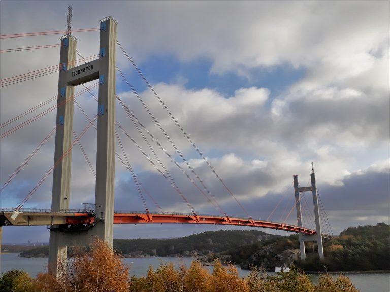 Scandinavische bruggen: de Tjörnbron